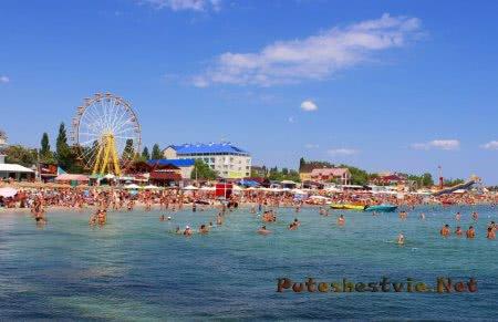 Курорты Украины на Черном и Азовском море