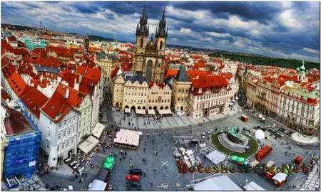Красивые города Чехии