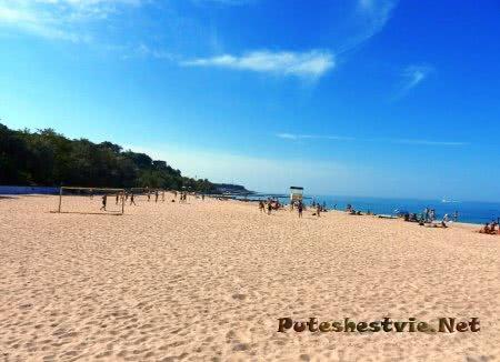 Пляжи Большого Фонтана