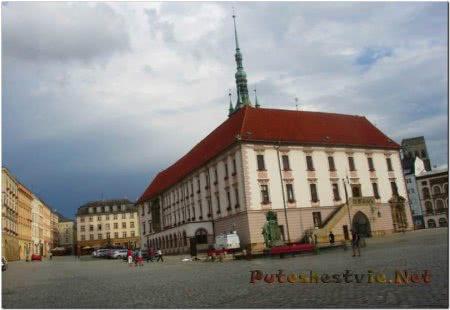 Городская ратуша Оломуца