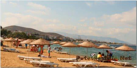 Пляжи острова Авша