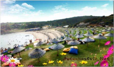 Пляж Узунья