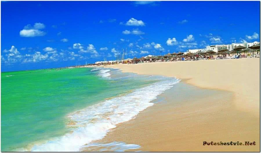 Пляжи острова Джерба