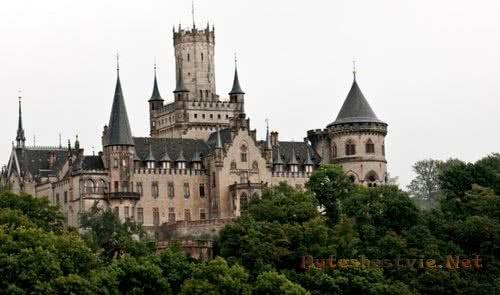 старинные замки германии фото