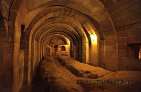 Подземные города Турции