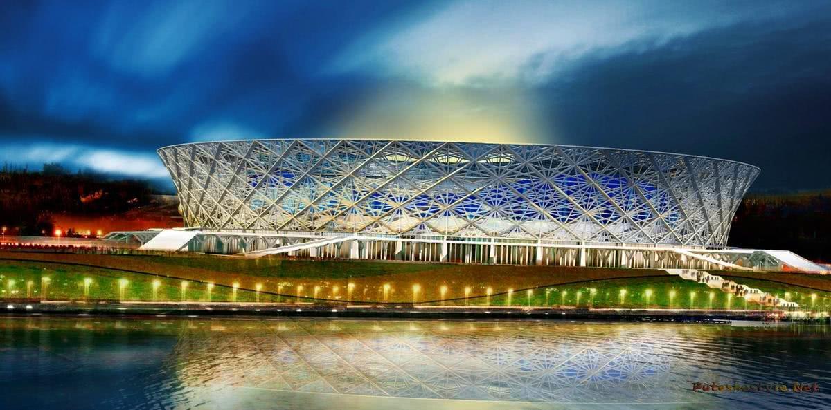 Нижнекамске фото стадионов к чм 2018 небеса